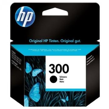 Inkoustová náplň HP DeskJet D2560, F4280, CC640EE, No. 300, 4 ml černá