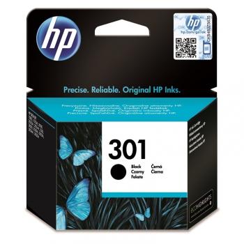 Inkoustová náplň HP No. 301, 190 stran černá