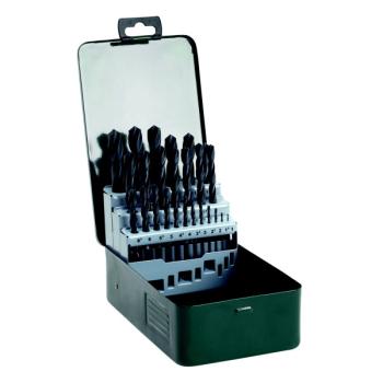 Sada vrtáků Bosch 25dílná do kovu HSS-R černé