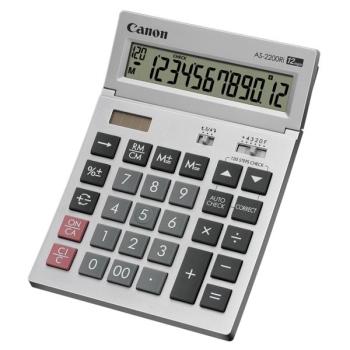 Kalkulačka Canon AS-2200RI stříbrná