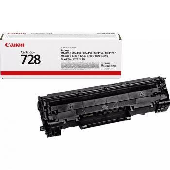 Toner Canon CRG-728, 2100 stran, originální černá