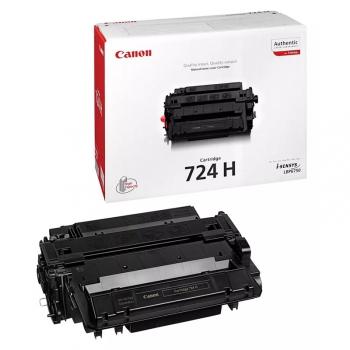 Toner Canon CRG-724 H, 12500 stran - originální černá