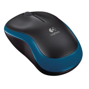 Myš Logitech Wireless Mouse M185 modrá (/ optická / 2 tlačítka / 1000dpi)