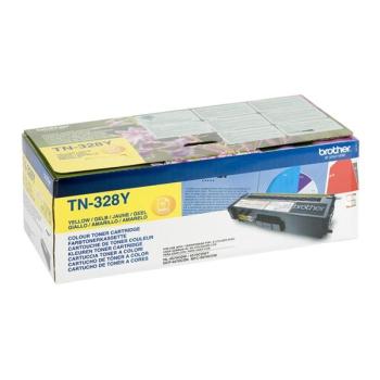 Toner Brother TN-328Y, 6000 stran - originální žlutý