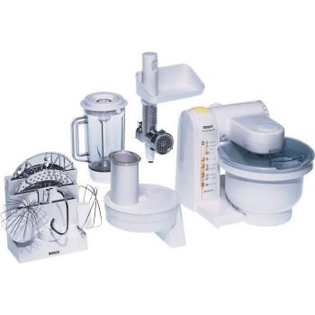 Kuchyňský robot Bosch MUM4655 EU bílý/kov/plast