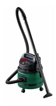Průmyslový vysavač Bosch PAS1121 černý/zelený