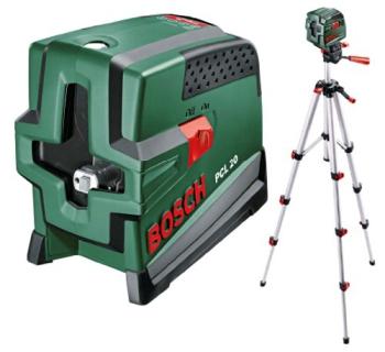Křížový laser Bosch PCL 20 Set
