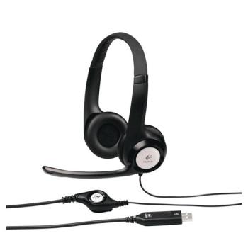 Headset Logitech H390 USB černý