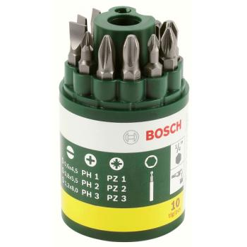 Sada bitů Bosch 10dílná