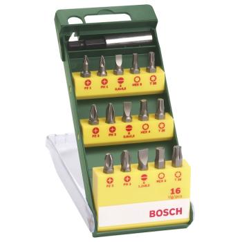 Sada bitů Bosch 16 dílná