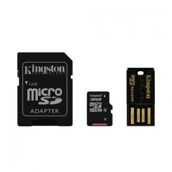 Paměťová karta Kingston Mobility Kit 32GB UHS-I U1 (30R/10W)