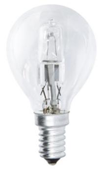 Žárovka halogenová EMOS klasik, 28W, E14, teplá bílá