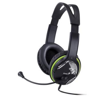 Headset Genius HS-400A černý/zelený