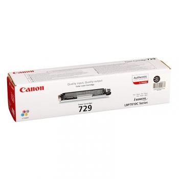 Toner Canon CRG-729Bk, 1,2K stran - originální černý