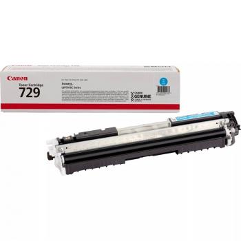 Toner Canon CRG-729C, 1000 stran - originální modrý