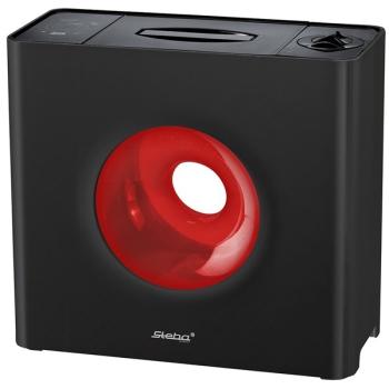 Zvlhčovač vzduchu Steba LB 6 BLACK černý/červený