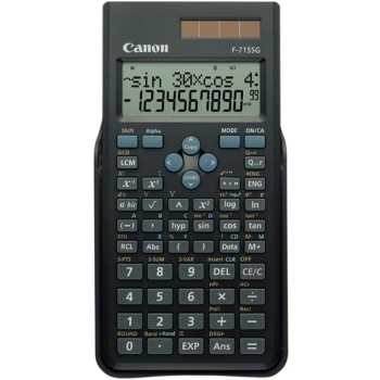 Kalkulačka Canon F-715SG černá