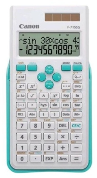 Kalkulačka Canon F-715SG bílá/modrá
