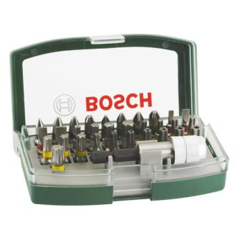 Sada bitů Bosch 32 ks s barevným odlišením