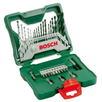 Sada vrtáků a bitů Bosch 33dílná X-Line