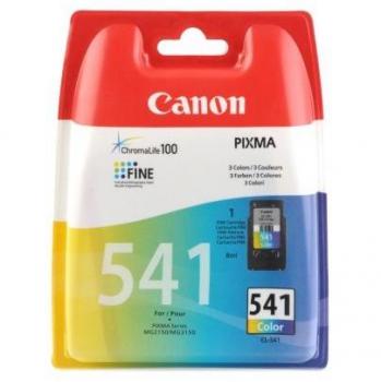 Inkoustová náplň Canon CL-541, 180 stran - originální červená/modrá/žlutá