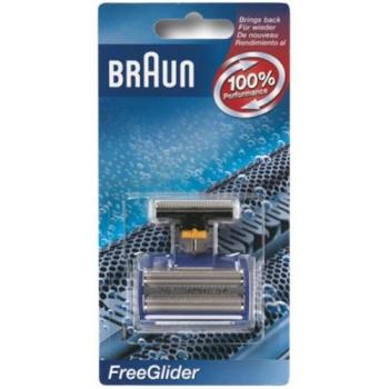 Příslušenství pro holicí strojky Braun CombiPack FreeGlider - 6600 stříbrné