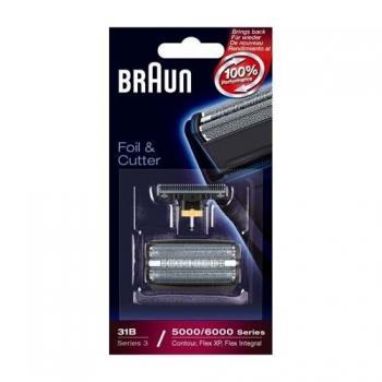Příslušenství pro holicí strojky Braun CombiPack FlexIntegral - 31S stříbrné