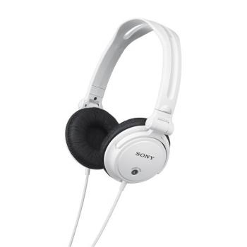 Sluchátka Sony MDRV150W.AE bílá