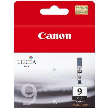 Inkoustová náplň Canon PGI-9PBk, 650 stran - originální černá