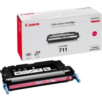 Toner Canon CRG-711M , 6000 stran - originální červený