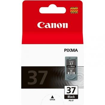 Inkoustová náplň Canon PG-37Bk, 11ml - originální černá