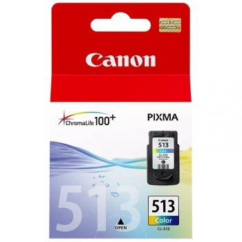 Inkoustová náplň Canon CL-513C, 350 stran - originální červená/modrá/žlutá