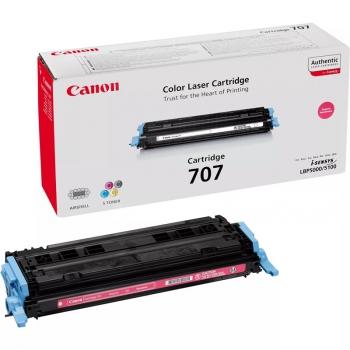 Toner Canon CRG-707M, 2000 stran - originální červený