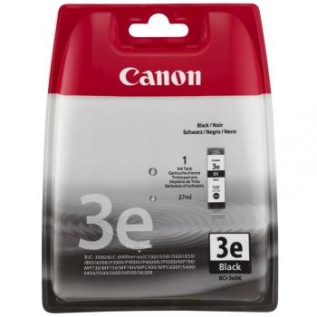 Inkoustová náplň Canon BCI-3eBk, 210 stran - originální černá