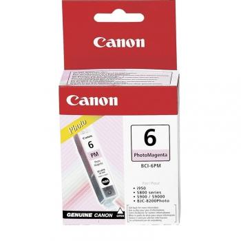 Inkoustová náplň Canon BCI-6PM, 210 stran - originální fialová
