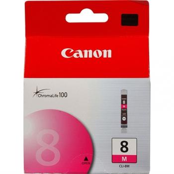 Inkoustová náplň Canon CLI-8M, 420 stran - originální fialová