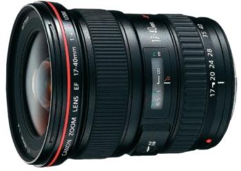 Objektiv Canon EF 17-40mm f/4.0 L USM černý