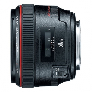 Objektiv Canon EF 50mm f/1.2 L černý