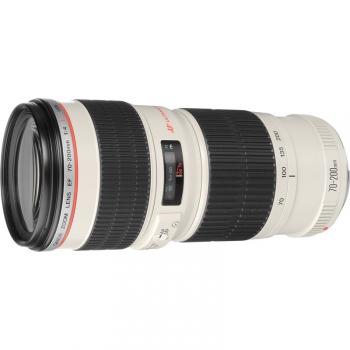 Objektiv Canon EF 70-200mm f/4.0 L USM černý/bílý