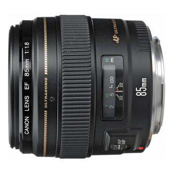 Objektiv Canon EF 85 mm f/1.8 USM černý