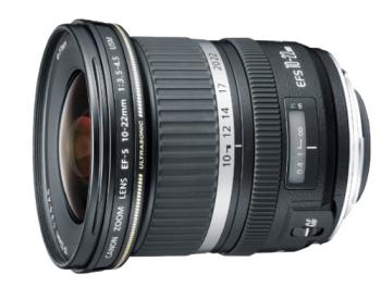 Objektiv Canon EF-S 10-22mm f/3.5-4.5 USM černý