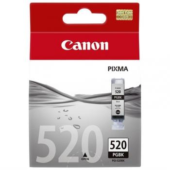 Inkoustová náplň Canon PGI-520Bk, 320 stran - originální černá