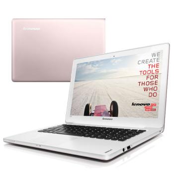 Notebook Lenovo IdeaPad U310 bílý/růžový