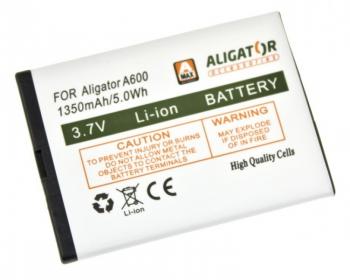 Baterie Aligator A600/A610/A620/A430/A680, Li-Ion 1350 mAh