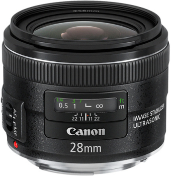 Objektiv Canon EF 28mm f/2.8 IS USM