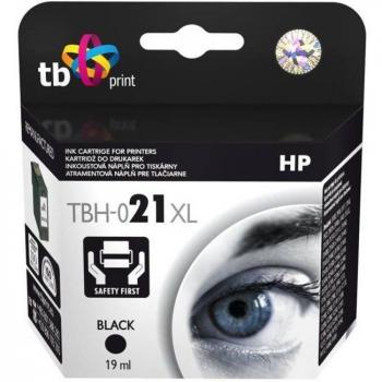 Inkoustová náplň TB HP C9351AE (No.21) Bk - kompatibilní černá
