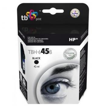 Inkoustová náplň TB HP 51645AE (No.45) Bk - kompatibilní černá