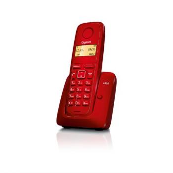 Domácí telefon Siemens Gigaset A120 červený