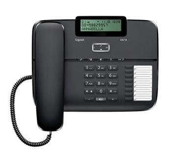 Domácí telefon Siemens Gigaset DA710 černý