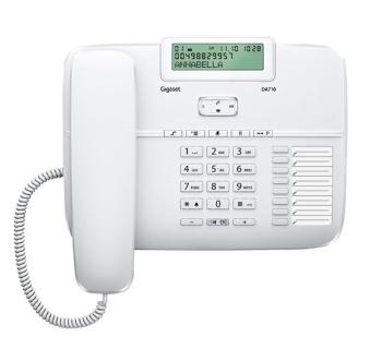 Domácí telefon Gigaset Gigaset DA710 bílý